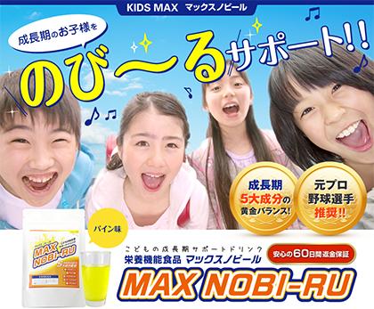 元プロ野球選手も推奨!MAX NOBI-RU(マックスノビール)