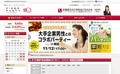関西、中国、九州地方中心の婚活パーティー「フィオーレ」の口コミ
