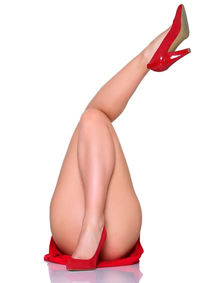 一瞬で脚が細くなる方法